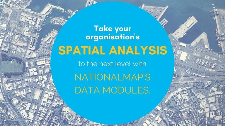 NationalMap Data Modules