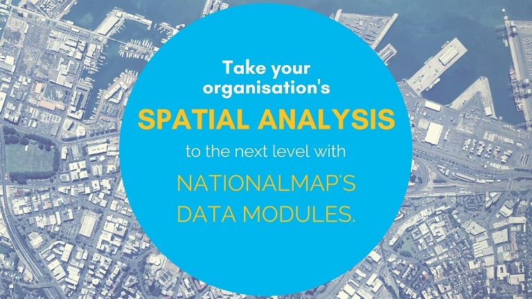 NationalMap Data Modules