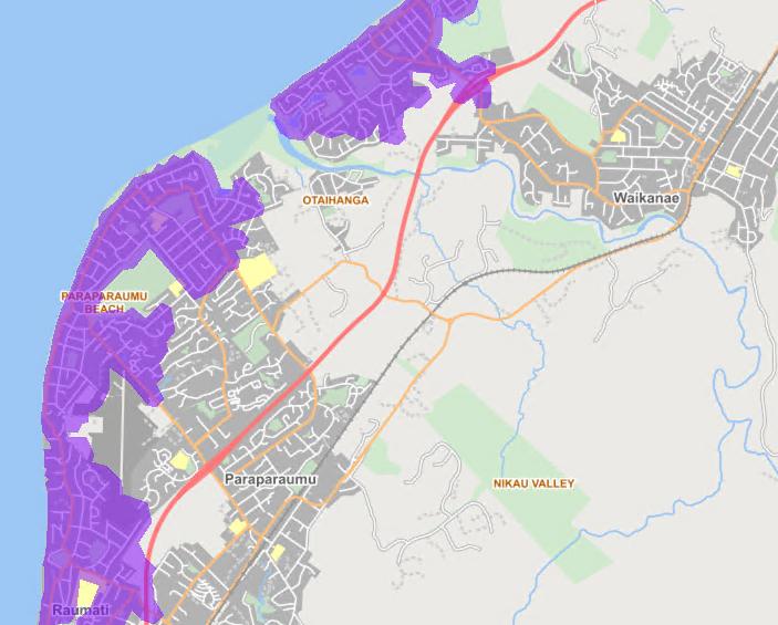 Kapiti map